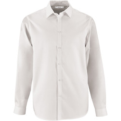 Abbigliamento Uomo Camicie maniche lunghe Sols BRODY WORKER MEN Blanco