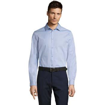 Abbigliamento Uomo Camicie maniche lunghe Sols BRODY WORKER MEN Azul