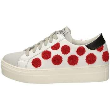 Scarpe Donna Sneakers basse Meline UG 214 Bianco Rosso