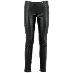 Abbigliamento Donna Leggings Café Noir CAF-RRR-JP265-010 Nero