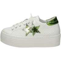 Scarpe Donna Sneakers basse Balada 1451 Bianco Verde
