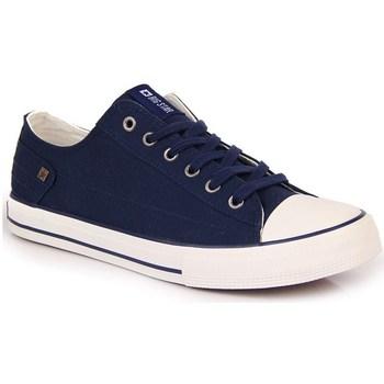 Scarpe Donna Sneakers basse Big Star INT1092C Bianco,Blu marino