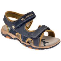 Scarpe Bambino Sandali Lumberjack Levi 30/35 Velcro Sandali blu