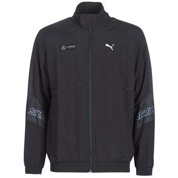 Abbigliamento Uomo Giacche sportive Puma MAPM STREET WOVEN JACKET MERCEDES Nero