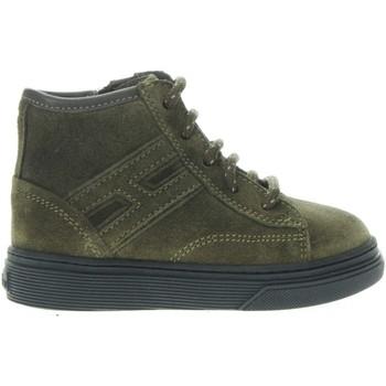 Scarpe Bambino Sneakers alte Hogan HXT3400K280HB9V801-UNICA - Sne  Verde