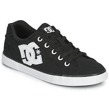 Scarpe Donna Sneakers basse DC Shoes CHELSEA TX Nero / Bianco