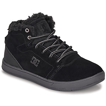 Scarpe Unisex bambino Sneakers alte DC Shoes CRISIS HIGH WNT Nero