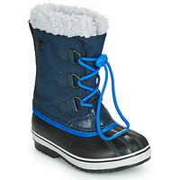 Scarpe Unisex bambino Stivali da neve Sorel YOOT PAC NYLON Marine