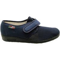 Scarpe Donna Pantofole Gaviga GA143bl blu
