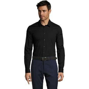 Abbigliamento Uomo Camicie maniche lunghe Sols BLAKE MODERN MEN Negro