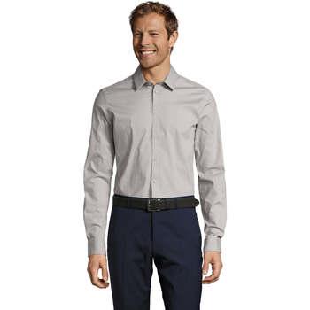 Abbigliamento Uomo Camicie maniche lunghe Sols BLAKE MODERN MEN Gris