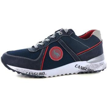 Scarpe Uomo Sneakers basse Canguro 209 BLUE