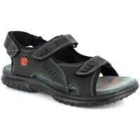Scarpe Uomo Sandali sport Comfort Style 2415 NERO