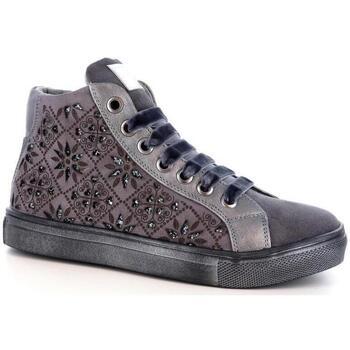 Scarpe Bambina Sneakers alte Asso 57628 GREY