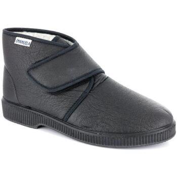Scarpe Uomo Pantofole Emanuela 591 NERO