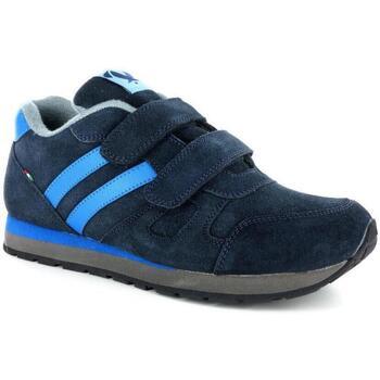 Scarpe Uomo Sneakers basse Antica Cuoieria 4367 BLU