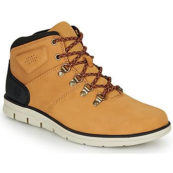 Scarpe Uomo Sneakers alte Timberland BRADSTREET HIKER Grano / Marrone