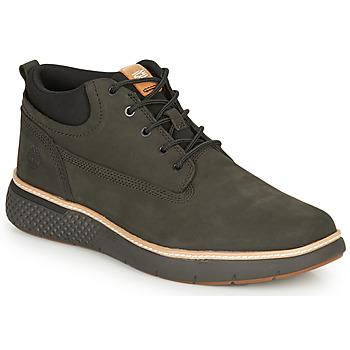 Scarpe Uomo Sneakers alte Timberland CROSS MARK PT CHUKKA Nero
