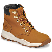 Scarpe Unisex bambino Sneakers alte Timberland BROOKLYN SNEAKER BOOT Marrone
