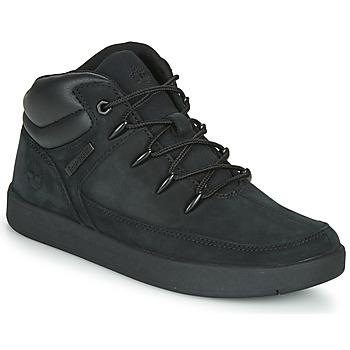 Scarpe Unisex bambino Sneakers alte Timberland DAVIS SQUARE TDEUROSPRINT Nero