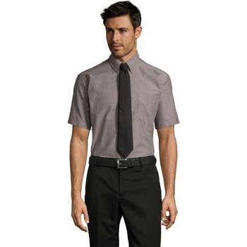 Abbigliamento Uomo Camicie maniche corte Sols BRISBANE ORIGINAL WORK Plata