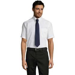 Abbigliamento Uomo Camicie maniche corte Sols BRISBANE ORIGINAL WORK Blanco