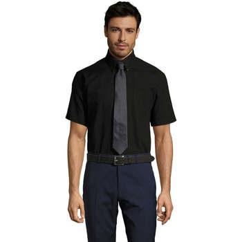 Abbigliamento Uomo Camicie maniche corte Sols BRISBANE ORIGINAL WORK Negro