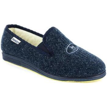 Scarpe Uomo Pantofole Emanuela 580E BLU