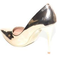 Scarpe Donna Décolleté Malu Shoes DECOLLETE DONNA CHAMPAGNE SPECCHIATO LUCIDO LINEA LUXURY VERNIC ORO
