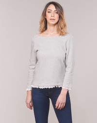 Abbigliamento Donna T-shirts a maniche lunghe Betty London KARA Bianco / Marine