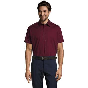 Abbigliamento Uomo Camicie maniche corte Sols BROADWAY STRECH MODERN Violeta