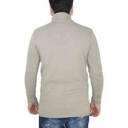 Abbigliamento Uomo Maglioni Enos Maglione dolcevita uomo manica lunga con colletto stretto beige BEIGE
