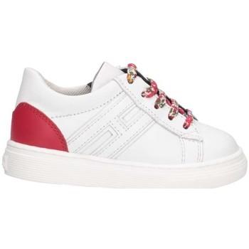 Scarpe Unisex bambino Sneakers basse Hogan HXT3400K390FH50S10 Sneakers Bambina Bianco Bianco
