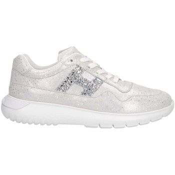 Scarpe Unisex bambino Sneakers basse Hogan HXC3710AP30KIIB200 Sneakers Bambina Argento Argento