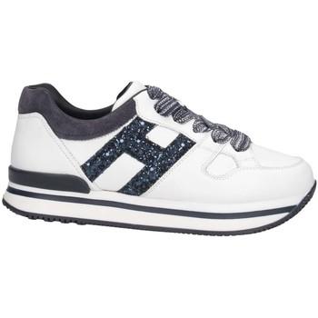 Scarpe Unisex bambino Sneakers basse Hogan HXC2220T548GAC1563 Sneakers Bambina Bianco/blu Bianco/blu