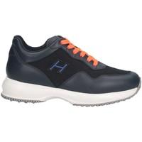 Scarpe Unisex bambino Sneakers basse Hogan HXC00N0V311KIR123L Sneakers Bambino Blu Blu