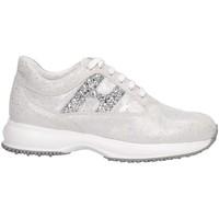 Scarpe Unisex bambino Sneakers basse Hogan HXC00N0O241KIIB200 Sneakers Bambina Argento Argento