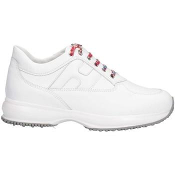 Scarpe Unisex bambino Sneakers basse Hogan HXC00N0O241FH5B001 Sneakers Bambina Bianco Bianco