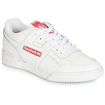 Scarpe Sneakers basse Reebok Classic WORKOUT PLUS MU Bianco / Rosso