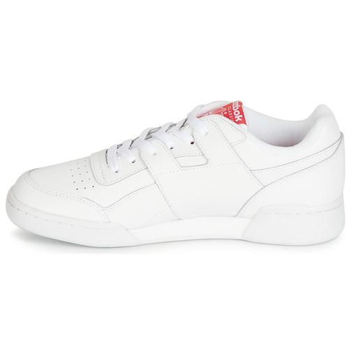 6000 BiancoRosso Gratuita Reebok Basse Mu Consegna Sneakers Scarpe Classic Workout Plus A5RjLq43