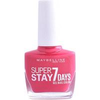 Bellezza Donna Smalti Maybelline Superstay Nail Gel Color 180-rose Fuchsia 10 ml
