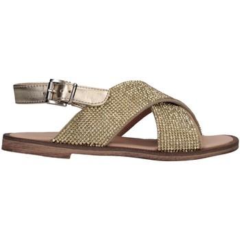 Scarpe Bambina Sandali Florens W875611D PELLE PLATI Sandalo Bambina Platino Platino