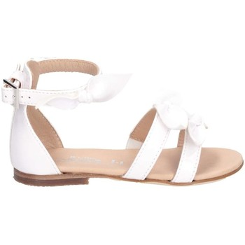 Scarpe Bambina Sandali Florens W060733B BIANCO Sandalo Bambina Bianco Bianco