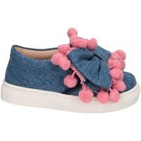 Scarpe Bambina Slip on Florens W055327I JEANS/ROSA Jeans