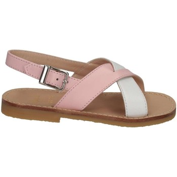 Scarpe Bambina Sandali Il Gufo G737 BIANCO/ROSA Bianco/rosa