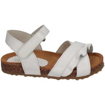 Scarpe Bambina Sandali Il Gufo G564 BIANCO ROUGE Sandalo Bambina Bianco Bianco