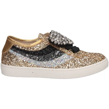 Scarpe Bambina Sneakers basse Florens F66851-2 ORO/MIX Sneakers Bambina Oro Oro