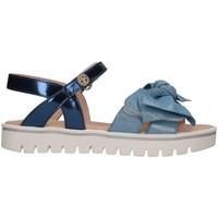 Scarpe Bambina Sandali Florens E2909 AZZURRO Sandalo Bambina Azzurro Azzurro
