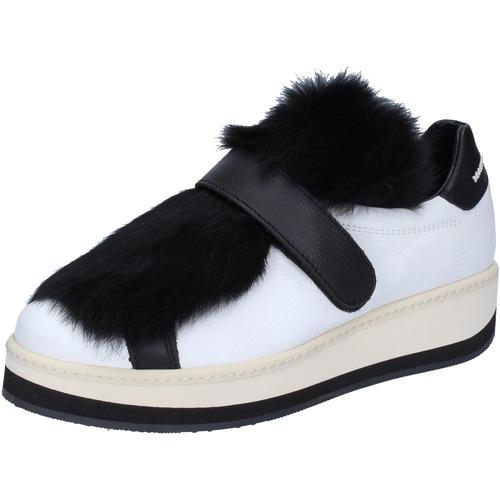 hot sale online 783af 74cae sneakers pelle pelliccia