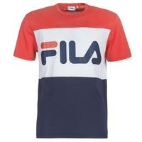Abbigliamento Uomo T-shirt maniche corte Fila MEN DAY tee Marine / Rosso / Bianco